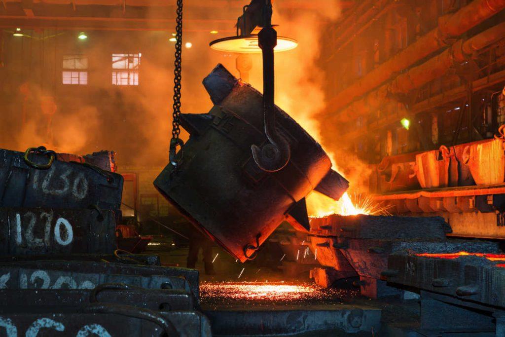 Sistemas termográficos digitales: la mejor protección para los trabajadores de la metalurgia